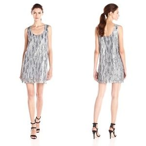 BB Dakota Roselyn Sequin Shift Dress S Oversized